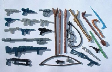 Star Wars Spare Weapons & Parts
